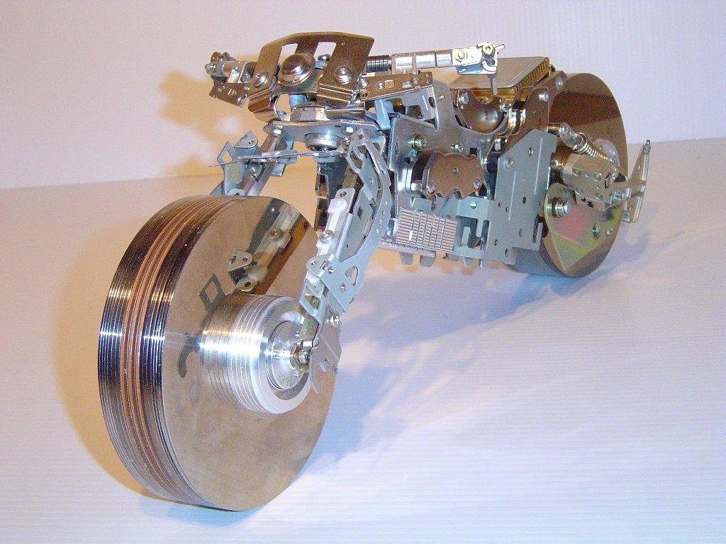 Old Hard Drive Platters